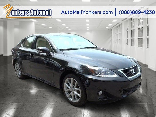 2012 Lexus IS 250 wNavigation ObsidianEcruLight Brown V6 25L Automatic 39972 miles 1 owner