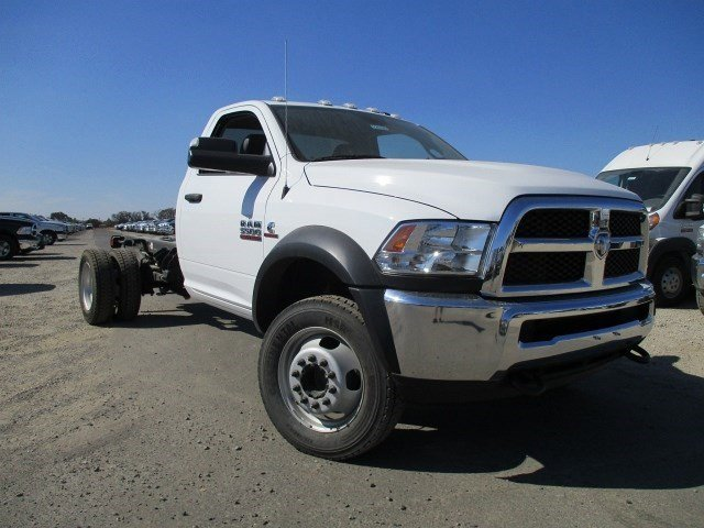 2016 Ram 5500 V BRIGHT WHITE CL V6 67 L Automatic 49 miles  Four Wheel Drive  Power Steering