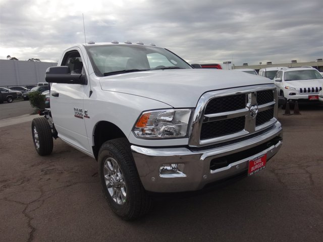 2017 Ram 3500 Chassis Cab C BRIGHT WHITE CL V6 67 L Automatic 2 miles Perhaps the most remarka