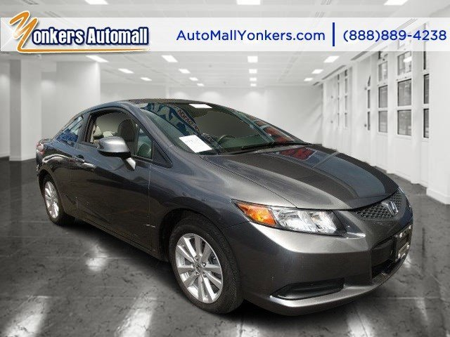 2012 Honda Civic Cpe EX Alabaster Silver MetallicGray V4 18L Automatic 28661 miles Yonkers Au