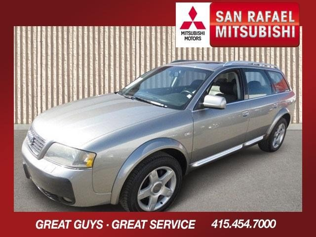 2005 Audi allroad Wagon Atlas GrayPlatinumSaber Black V6 27L Automatic 90053 miles This 2005