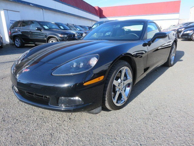 2006 Chevrolet Corvette BlackEbony V8 60L Automatic 32429 miles NEW ARRIVAL Black on Black 20