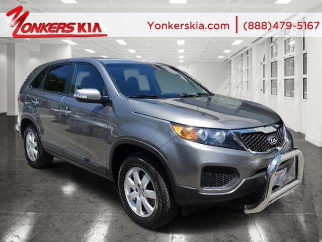 2012 Kia Sorento Base Bright SilverGray V4 24L Automatic 24373 miles 1 owner 2012 KIA Soren