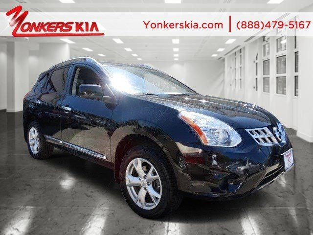 2011 Nissan Rogue SV Super BlackGray V4 25L Automatic 52585 miles Clean carfax 2011 Nissan