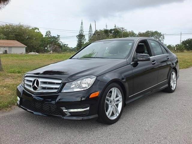 2013 Mercedes C-Class Black V4 18L Automatic 17415 miles Only 17 415 Miles Boasts 31 Highwa