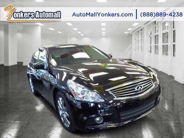 2013 Infiniti G37 Sedan x Black ObsidianGraphite V6 37L Automatic 35287 miles Premium package