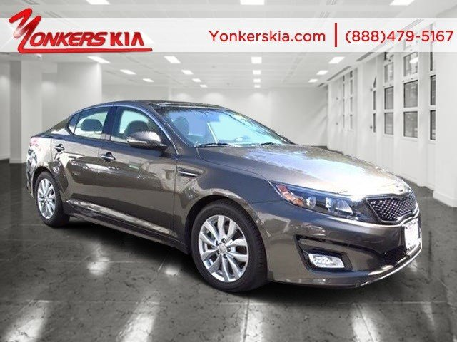 2014 Kia Optima EX Ebony BlackBeige V4 24 L Automatic 5132 miles Navigation Look at this 20