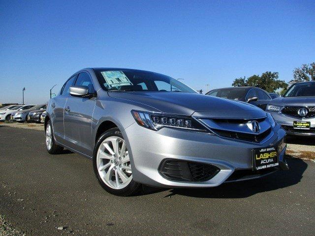 2017 Acura ILX wPremium Pkg Slate SilverEbony V4 24 L Automatic 5 miles  Front Wheel Drive