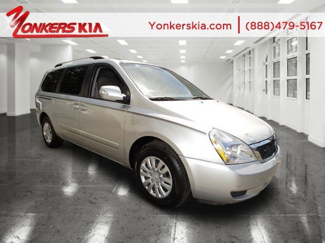 2012 Kia Sedona LX PlatinumGray V6 35L Automatic 54253 miles Yonkers Kia is the largest volum