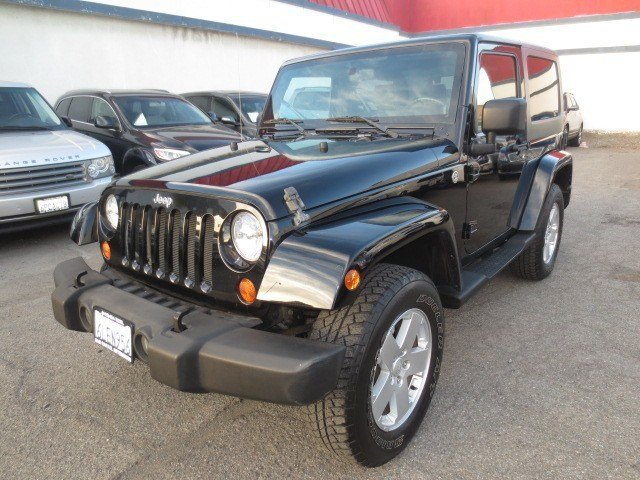 2007 Jeep Wrangler Sahara BlackDarkMedium Slate Gray V6 38L Manual 56595 miles NEW ARRIVAL L
