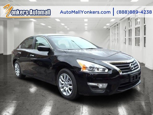 2014 Nissan Altima 25 S Super BlackCharcoal V4 25 L Automatic 36059 miles Yonkers Auto Mall
