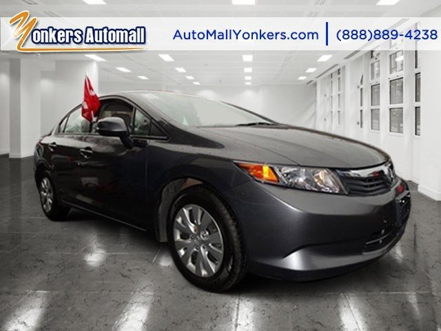 2012 Honda Civic Sdn LX Urban Titanium MetallicGray V4 18L Automatic 42004 miles 1 owner cle