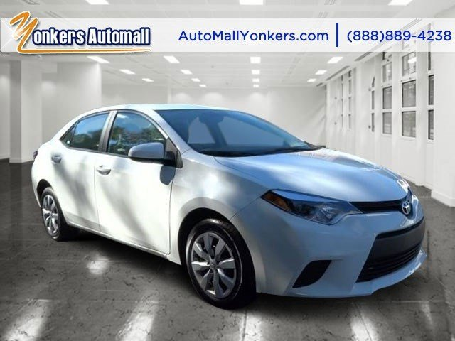 2014 Toyota Corolla LE Super WhiteAsh V4 18 L Automatic 36727 miles Racy yet refined this 20
