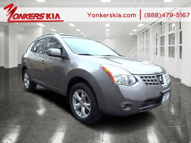 2008 Nissan Rogue S Silver Ice MetallicGray V4 25L Variable 134933 miles  Roof Rails  Alloy