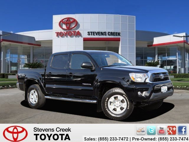 2014 Toyota Tacoma PreRunner Black V6 40 L Automatic 21980 miles CARFAX One-Owner Certified