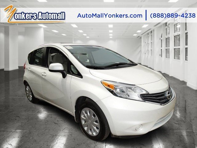 2014 Nissan Versa Note SV Aspen White PearlWheat Stone V4 16 L Variable 32589 miles 1 owner