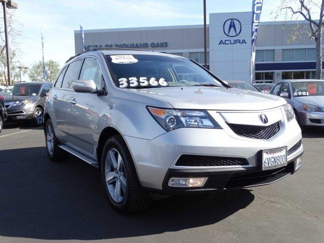 2012 Acura MDX TechEntertainment Pkg Palladium MetallicTaupe V6 37L Automatic 37491 miles Ne