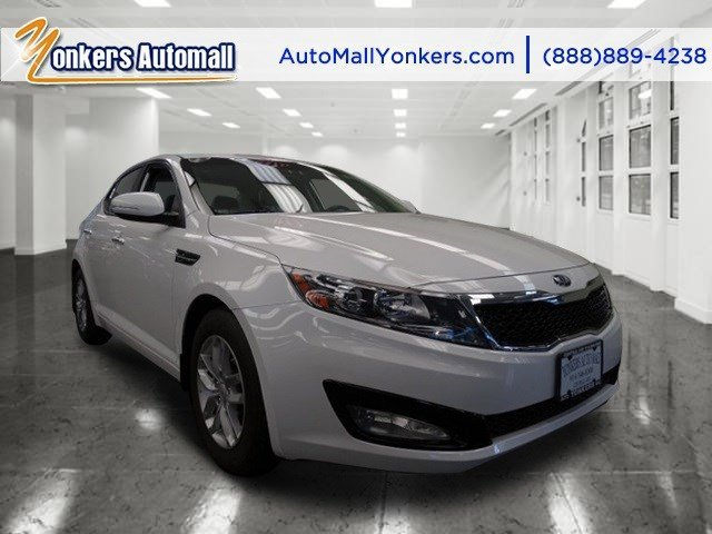 2013 Kia Optima LX Snow White PearlBeige V4 24L Automatic 14429 miles 1 owner clean carfax
