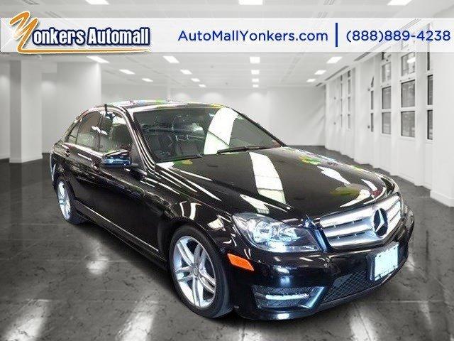 2013 Mercedes C-Class C300 Luxury Obsidian Black MetallicBlack V6 35L Automatic 48352 miles N
