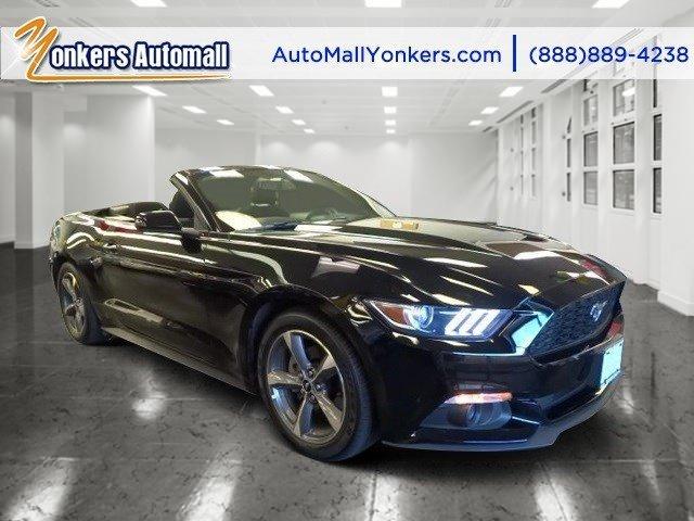 2015 Ford Mustang V6 BlackBlack V6 37 L Automatic 30698 miles Lavishly luxurious this 2015 F