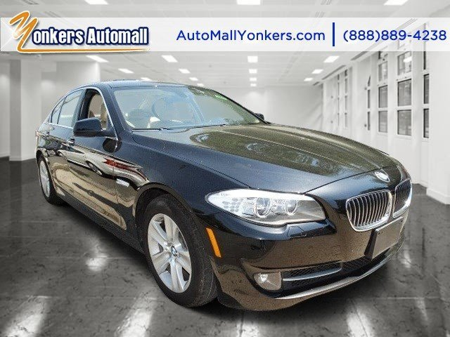 2013 BMW 5 Series 528i xDrive Carbon Black MetallicVenetian Beige V4 20L Automatic 42045 miles