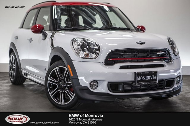 2016 MINI Cooper Countryman John Cooper Works ALL4  V4 16 L Automatic 0 miles  Turbocharged