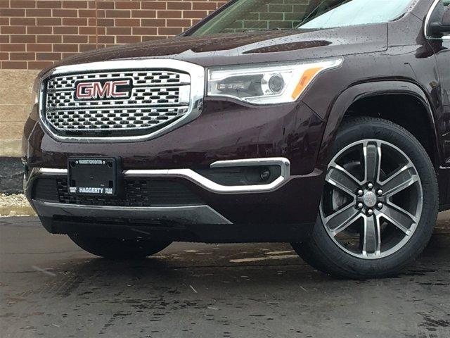 2017 GMC Acadia Denali Black Cherry MetallicCOCOASHALE PERF LTH V6 36L Automatic 5 miles Int