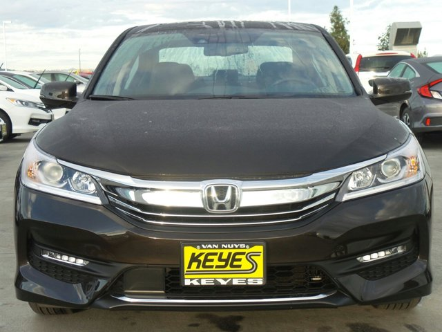 2017 Honda Accord Sedan EX-L V6 Kona Coffee MetallicBLK LTHR-TRIM V6 35 L Automatic 11 miles