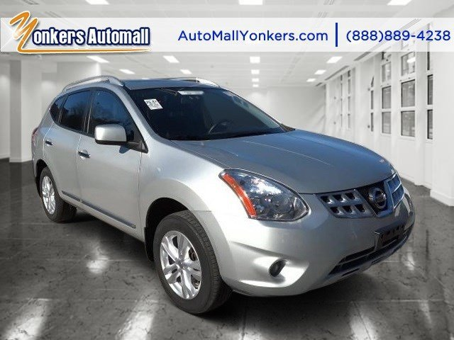 2013 Nissan Rogue SL Brilliant SilverGray V4 25L Automatic 30360 miles 1 owner clean carfax