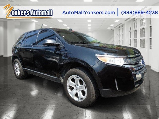 2013 Ford Edge SEL Tuxedo Black MetallicCharcoal Black V6 35L Automatic 44244 miles 2013 Ford
