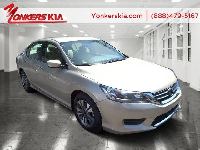 2013 Honda Accord Sdn LX Champagne Frost PearlIvory V4 24L Variable 35662 miles Yonkers Kia i