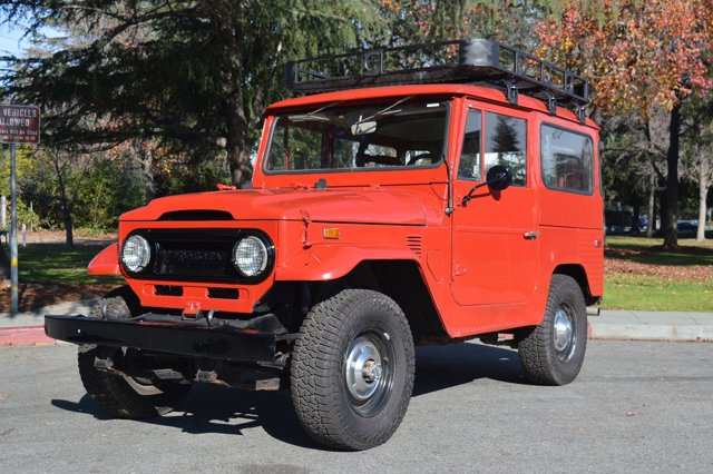 1974 Toyota Land Cruiser Red V   0 miles Beautiful FJ40 Land Cruiser in gorgeous red color wit