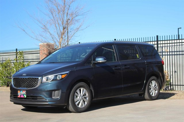 2016 Kia Sedona LX Midnight Sapphire Pearl MetallicGray V6 33 L Automatic 12 miles The flexib