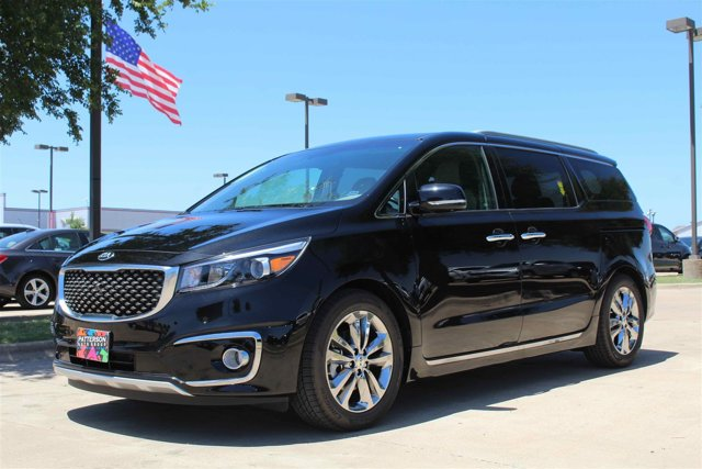 2016 Kia Sedona SX-L Aurora Black PearlDark Burgundy V6 33 L Automatic 10 miles The flexible