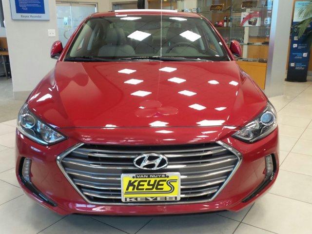 2017 Hyundai Elantra SE Scarlet Red Pearl V4 20 L Automatic 0 miles  Front Wheel Drive  Powe