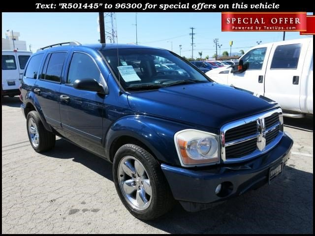 2005 Dodge Durango SLT Blue V8 57L Automatic 137433 miles Deal PendingChoose from our wide