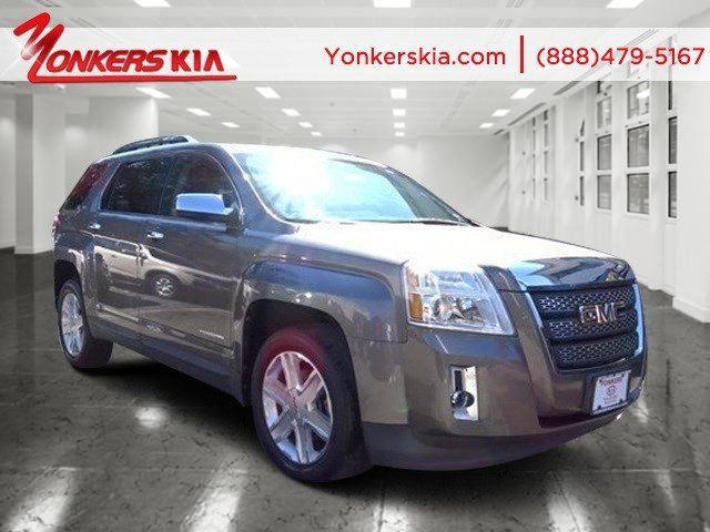 2010 GMC Terrain SLT-2 Mocha Steel MetallicBrownstone Leather V6 30 Automatic 27541 miles Yon