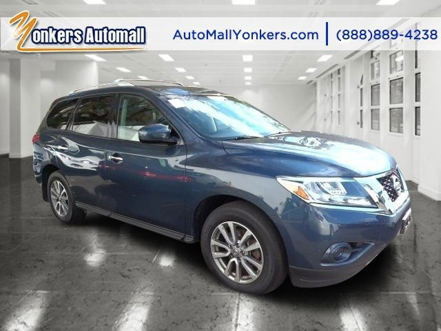 2013 Nissan Pathfinder SV Arctic Blue MetallicCharcoal V6 35L Automatic 41922 miles  All Whee