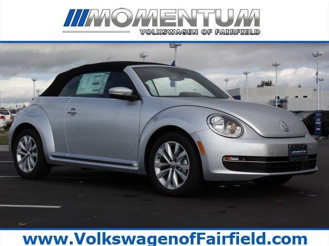2014 Volkswagen Beetle Convertible 20L TDI wSoundNav Reflex Silver MetallicBlack RoofTitan Bl