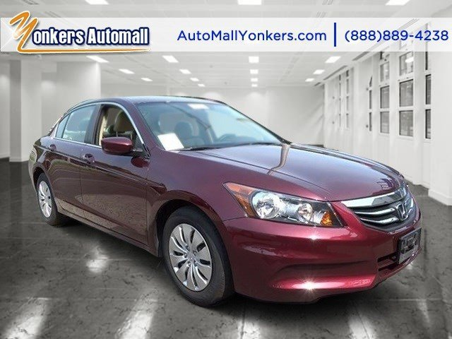 2012 Honda Accord Sdn LX Basque Red Pearl IIIvory V4 24L Automatic 33266 miles 1 owner clean