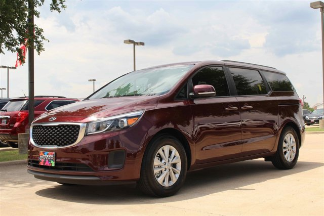 2016 Kia Sedona LX Venetian Red Pearl MetallicGray V6 33 L Automatic 10 miles The flexible se