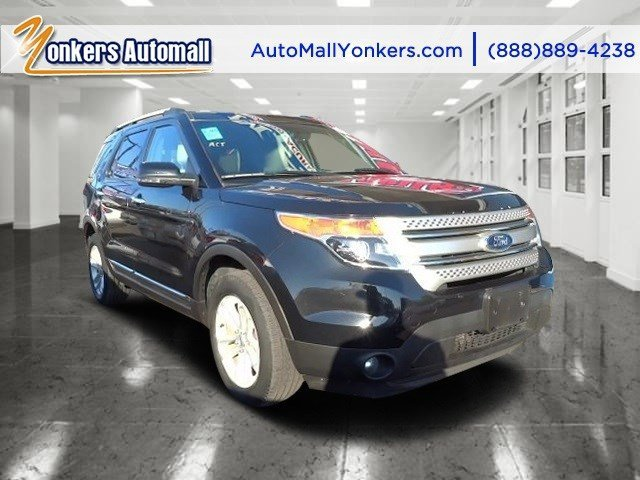 2013 Ford Explorer XLT Tuxedo Black MetallicMedium Light Stone V6 35L Automatic 48188 miles N