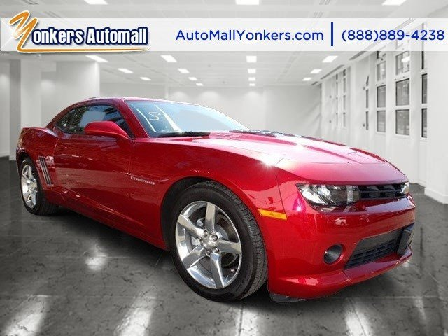 2014 Chevrolet Camaro LT Red HotBlack V6 36L Automatic 30846 miles Yonkers Auto Mall is the p