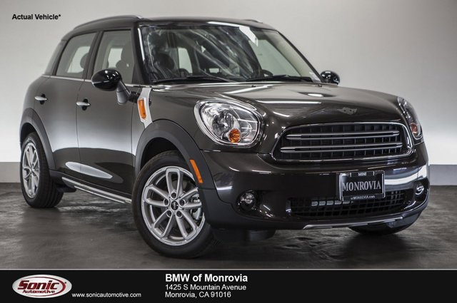 2016 MINI Cooper Countryman FWD 4dr Midnight Gray MetallicCarbon Black V4 16 L Automatic 0 mil