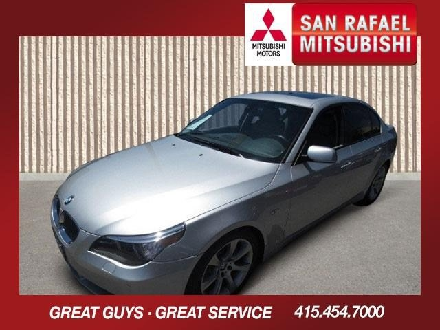 2006 BMW 5 Series 550i Titanium Silver MetallicGray V8 48L Automatic 78973 miles Low Miles Th