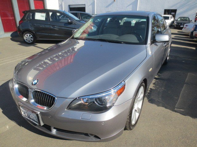 2007 BMW 5 Series 550i Titanium Gray MetallicGray V8 48L Automatic 78591 miles BAY AREA VEHICL