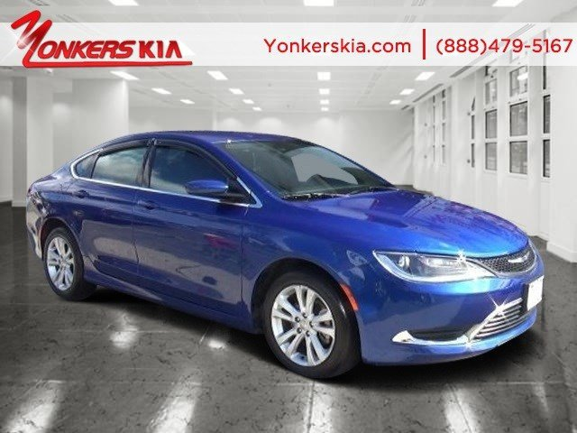 2015 Chrysler 200 Limited Vivid Blue PearlcoatBlack V4 24 L Automatic 18254 miles Drivers wan