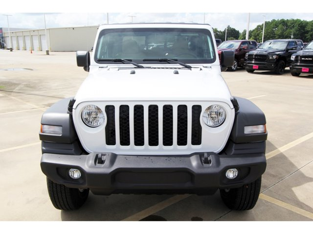 2020 Jeep Gladiator Sport S Bright White ClearcoatHeritage TanBlack V6 36 L Automatic 9 miles