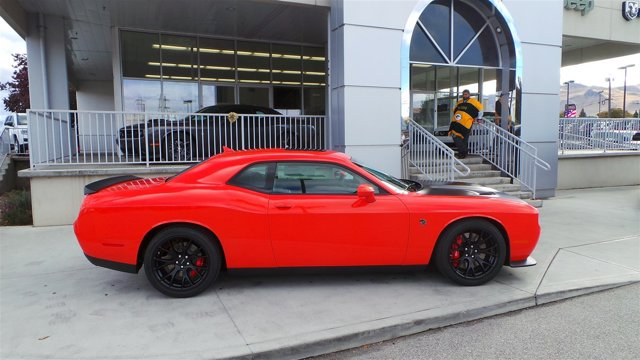 2016 Dodge Challenger SRT Hellcat Go MangoBlack V8 62 L Manual 8 miles  ENGINE 62L V8 SUPER