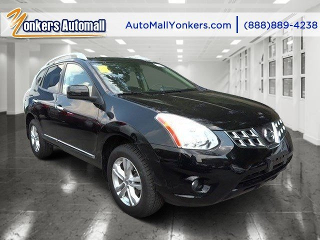 2012 Nissan Rogue SV Super BlackGray V4 25L Automatic 52880 miles 2012 Nissan Rogue with prem